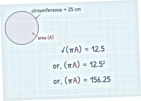 Формуланы қолдану шеңберде берілген
