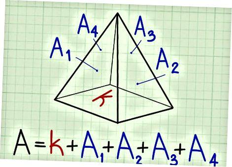 Piramidaning sirt maydoni