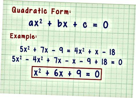 Faktoring kvadrat tenglamalari
