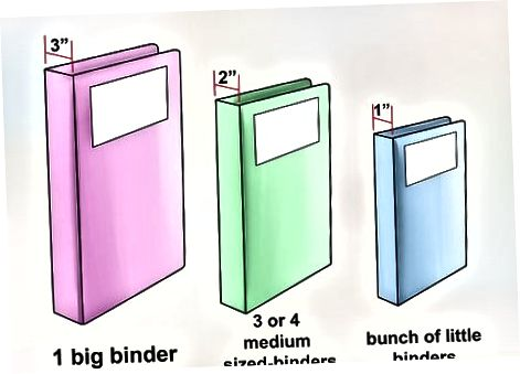 Izberite Binder