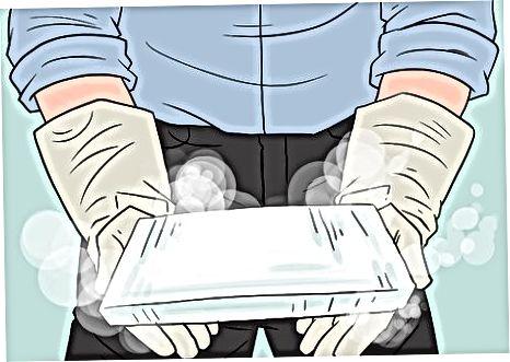 Rukovanje suhim ledom
