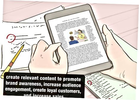 Marketing tarkibini yaratish
