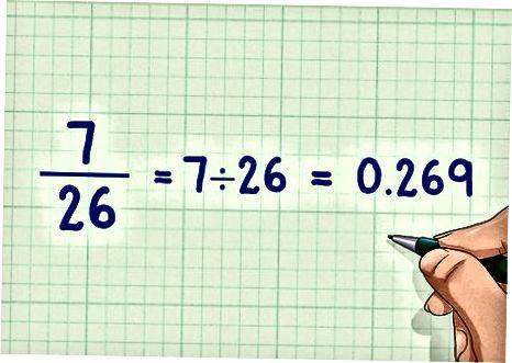 Umumiy denominatorlar bilan kasrlarni ayirish