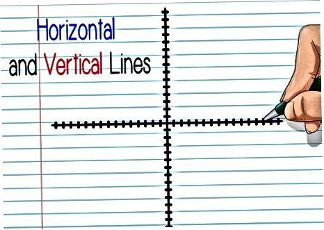 Vertikal yoki gorizontal chiziqlarning o'rtasini toping