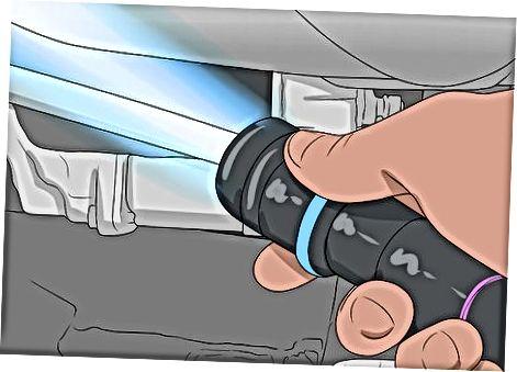 UV nurlari bilan qochqinlarni topish