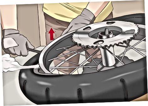 Motosiklet şinlərinin çıxarılması