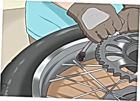 Motosiklet Təkərlərinin quraşdırılması