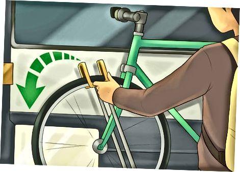 Avtobusdan chiqish va velosipedingizni tushirish