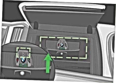 5 yoki 7 seriyali BMW-da displey tugmachasini zaryadlash