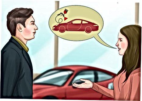 Kritt Informatiounen iwwer den Auto