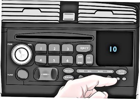 Brug af din radioopsamlingskode til at låse din radio op