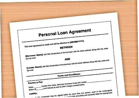 Sizning kreditingiz shartlarini tushuntirish