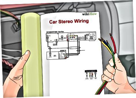 Jaunā stereo vadu uzstādīšana