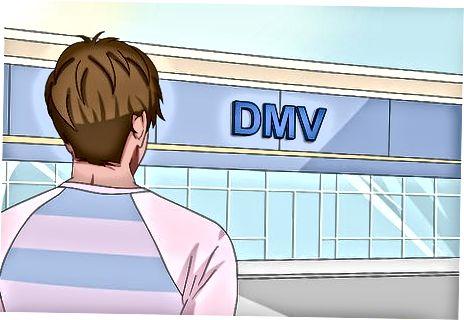 Şəxsi DMV Ofisini ziyarət etmək