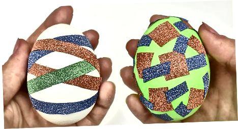Udsmykning af udblæst æg