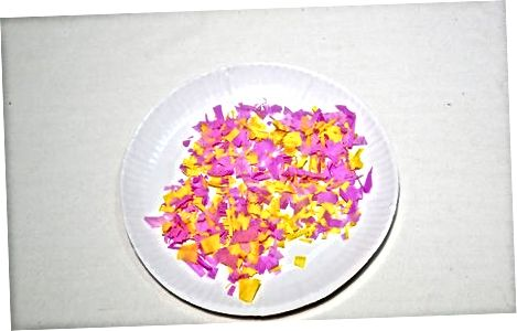 Realizarea unui ou Confetti de bază