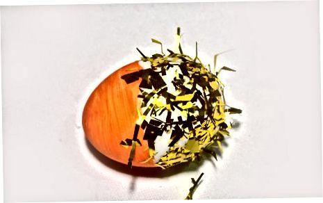 Creació d'un ou de confeti fantàstic