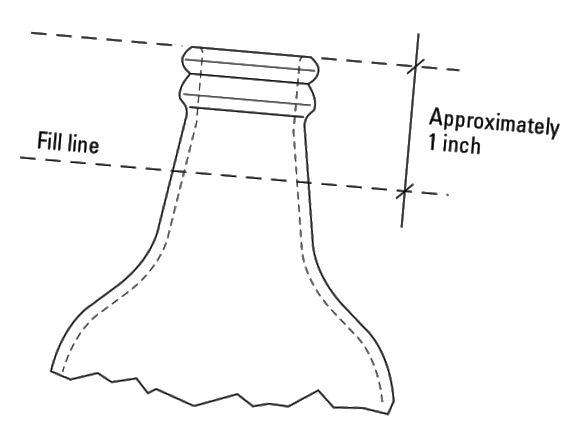 homebrew palack szint