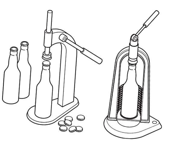 capsulador de garrafa
