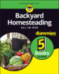 Homesteading do quintal All-in-One para manequins
