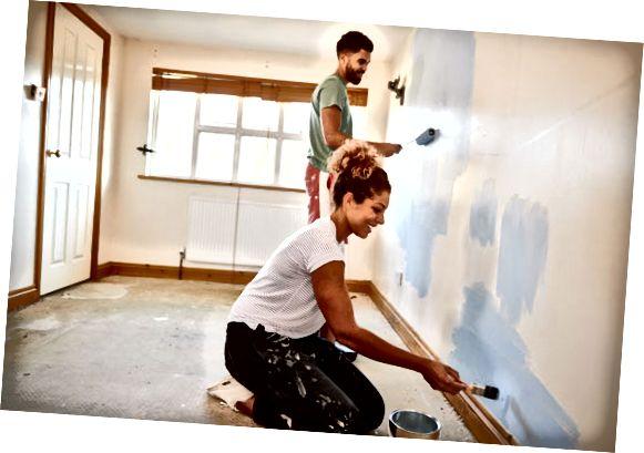 enkel renovering av eiendommer