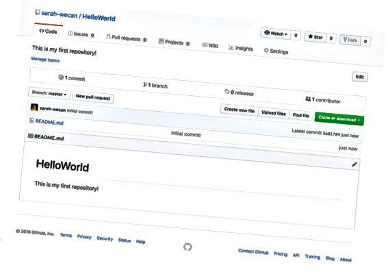 GitHub HelloWorld