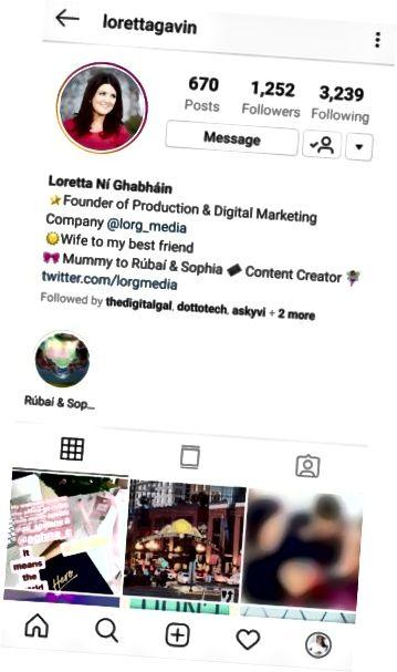 Zdjęcie profilowe na Instagramie
