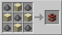 Minecraft TNT занаятчийска рецепта