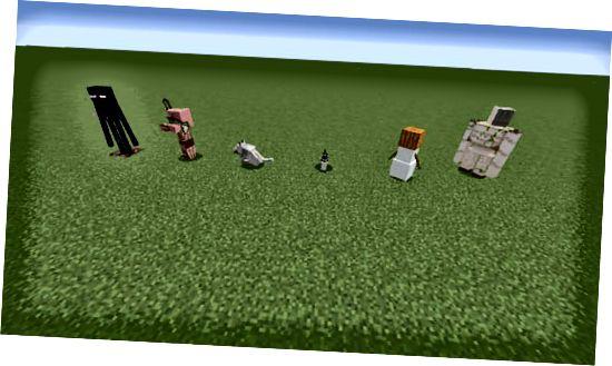неутрални мафиоти в Minecraft