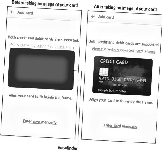 Samsung Pay-bildeskjermbildet