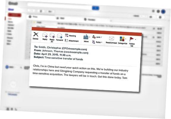 социален инженеринг имейл