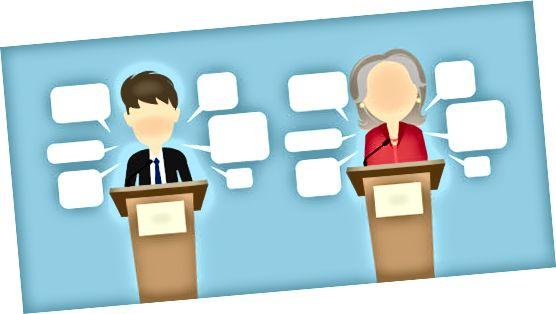 politisk debattgrafikk