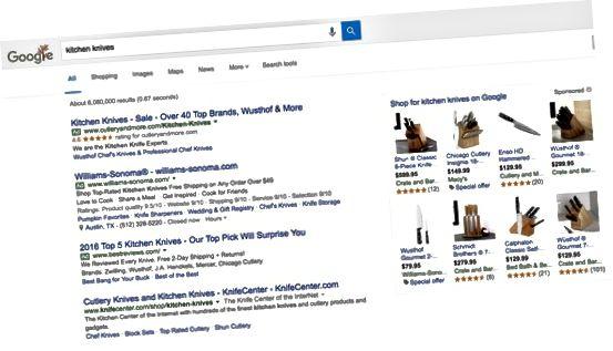 Резултати от търсенето с Google