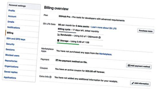 GitHub-faktureringsformular