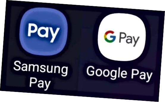 Logotipo Samsung Pay