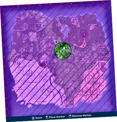 Fortnite карта