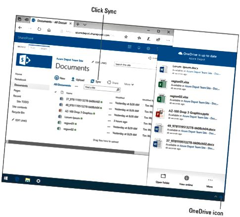 SharePoint-filer offline
