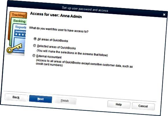 е посочен потребителски достъп