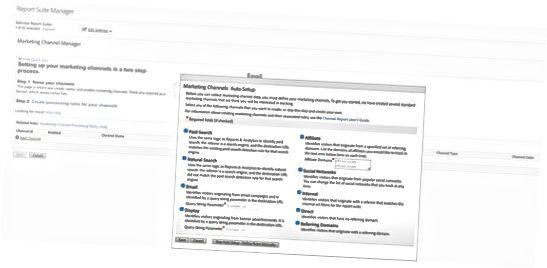 Regler for markedsføringskanal til Adobe Analytics