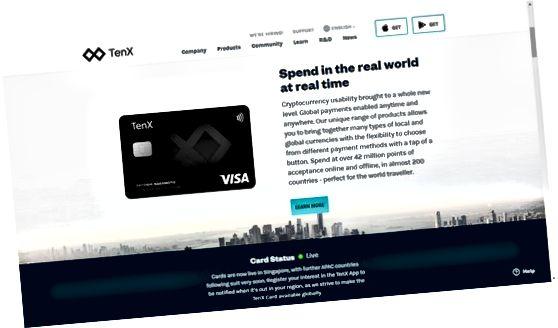 TenX debetkort