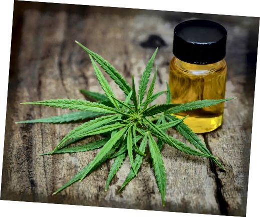 марихуана и извлечено масло