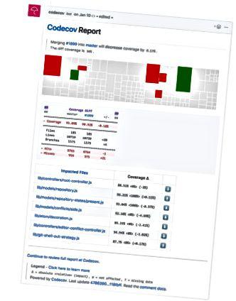 GitHub Codecov ऐप