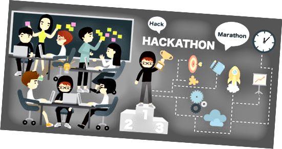 GitHub hackathon-grafikk