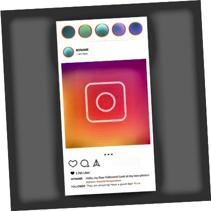 Instagram illustration