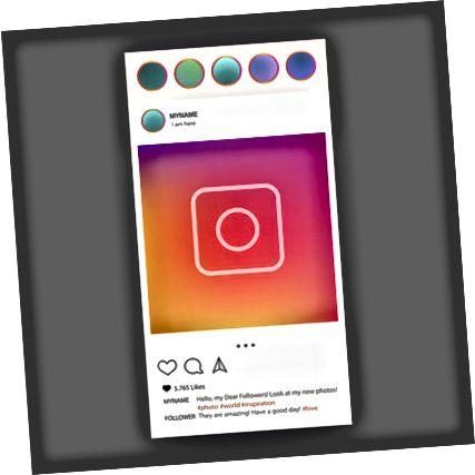 Instagram-illustrasjon
