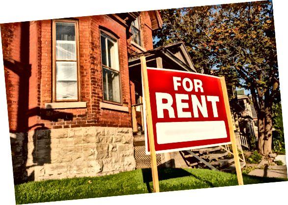 utleie som eiendomsinvesteringer