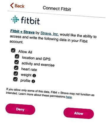 Strava adgang til Fitbit data
