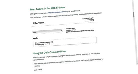 EtherTweet