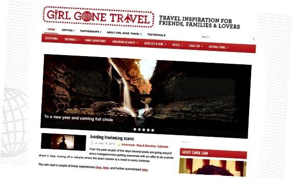 Блог за момичета Gone