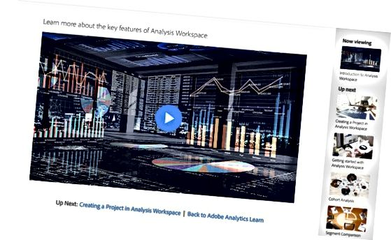 Видео уроци на Adobe Analytics